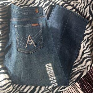 💎7 For All Mankind Swarovski Cropped APocket Jean